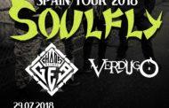 Comienza la gira de SOULFLY por España