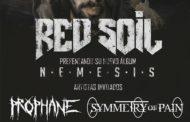 RED SOIL estarán tocando en Málaga y en Estepona el 28 y 29 de septiembre