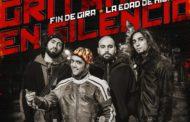 GRITANDO EN SILENCIO publican su cuarto disco «Material Inflamable» el 9 de noviembre