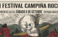 II Festival Campiña Rock – 6 de octubre, La Carlota (Córdoba)