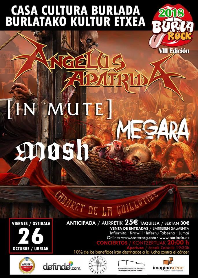 VIII BurlaRock Fest – 26 de octubre, Burlada (Pamplona)