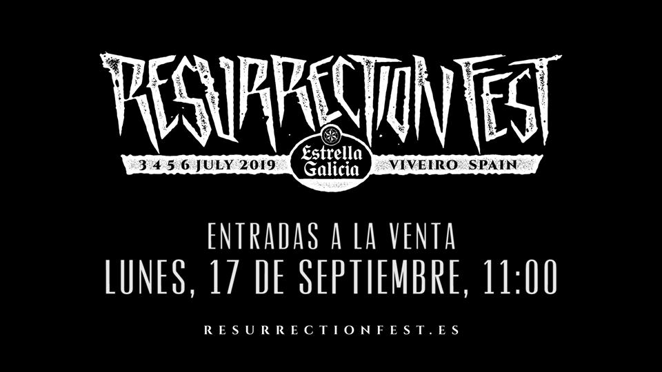 RESURRECTION FEST 2019, fechas y primeras confirmaciones