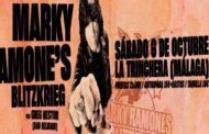 MARKY RAMONE'S BLITZKRIEG feat GREG HETSON (BAD RELIGION) el 6 de octubre en Málaga