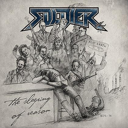 SOLDIER presenta hoy viernes 7 de septiembre su nuevo disco «The Sleeping of Reason»