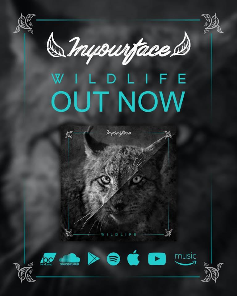 INYOURFACE presentarán su nuevo disco «Wildlife» el 27 de octubre en Granada
