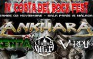 El IV COSTA DEL ROCK FEST ha confirmado hoy los horarios de las actuaciones