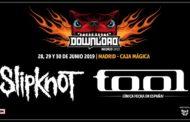 DOWNLOAD MADRID 2019 confirman a SLIPKNOT y a TOOL como cabezas de cartel