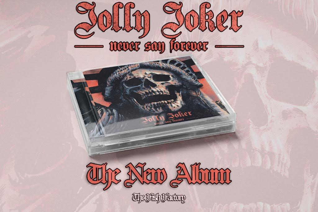 JOLLY JOKER: «Never Say Forever» Estrenan la Portada de su Nuevo Álbum