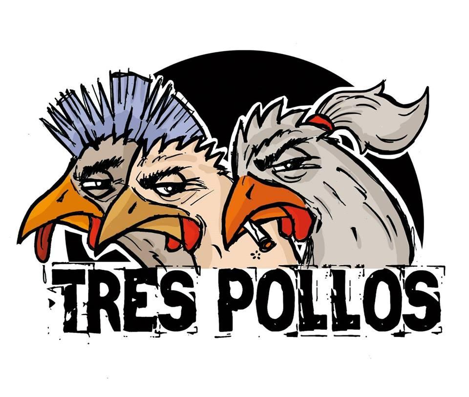 Los madrileños TRES POLLOS vuelven con nuevo VIDEOCLIP y CONCIERTO en Madrid