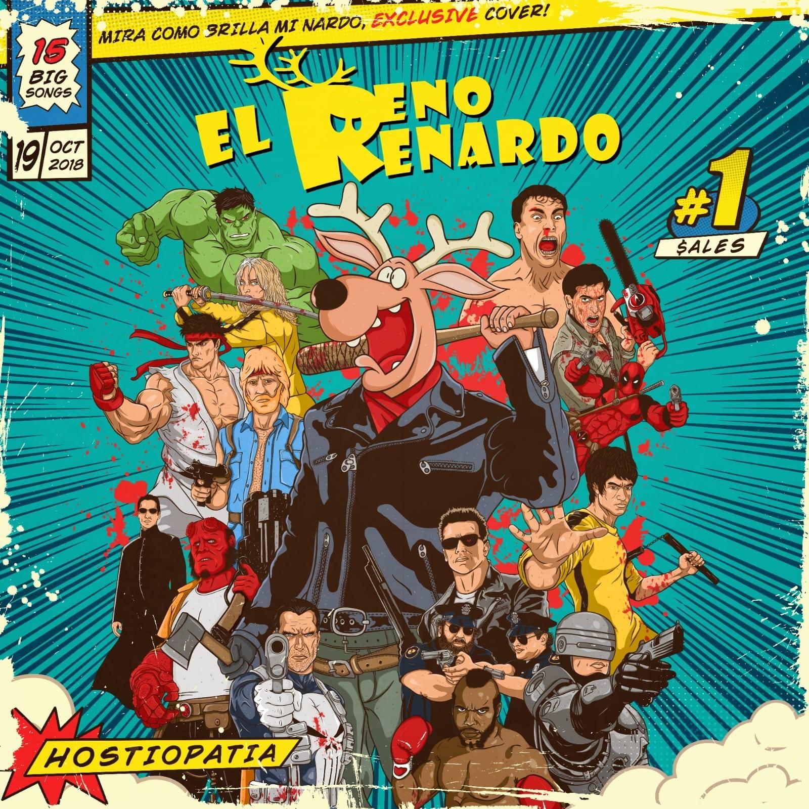 Reseña de «Hostiopatía» el nuevo disco de EL RENO RENARDO