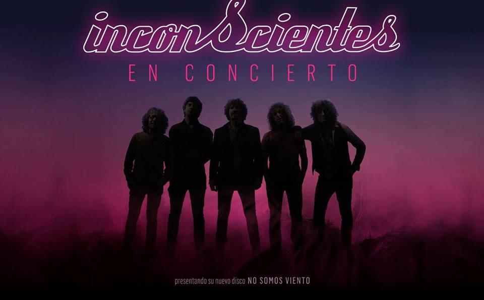 CRONICA del concierto de INCONSCIENTES + TERRAL el pasado 17 de noviembre en Málaga