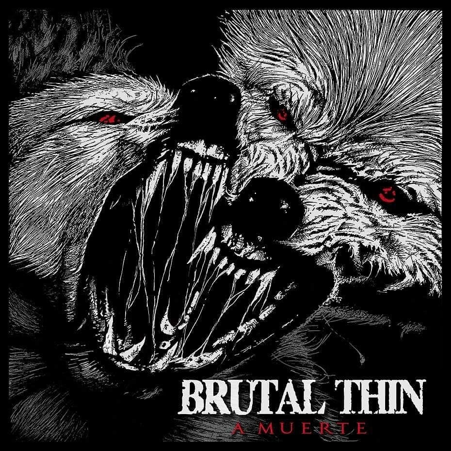 BRUTAL THIN presentan el título y la portada de su nuevo disco