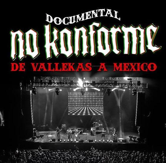 NO KONFORME presentan el documental «De Vallekas a México»