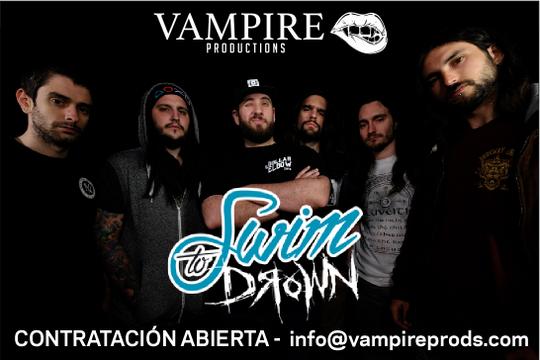 SWIM TO DROWN entran a formar parte del Roster de Vampire Productions