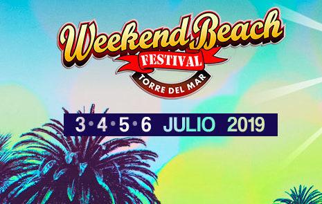 WEEKEND BEACH FESTIVAL  adelanta el cuarto avance para 2019