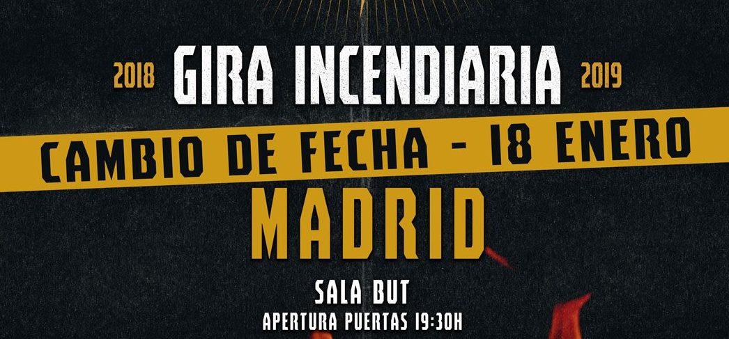 GRITANDO EN SILENCIO estarán actuando en Madrid el 18 de Enero