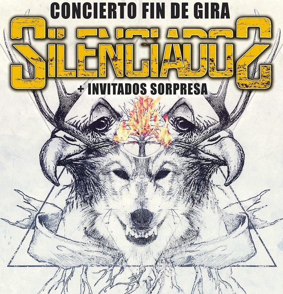 SILENCIADOS – Concierto fin de gira en Logroño el 26 de Enero