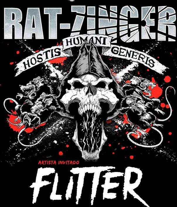 RAT-ZINGER estarán tocando el 8 de febrero junto a FLITTER en Irún