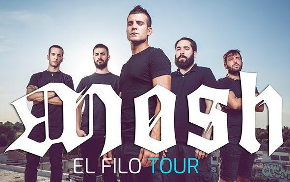 MOSH: «El Filo Tour» continúa sumando fechas + Estreno del nuevo vídeo-lyric