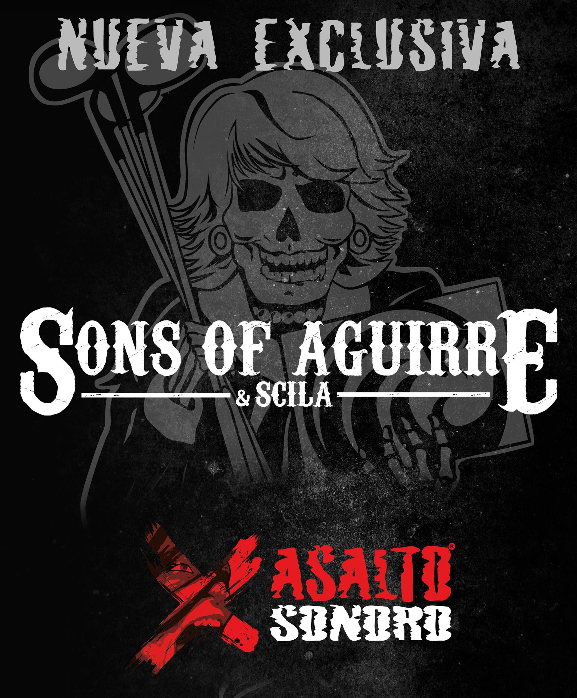 SONS OF AGUIRRE & SCILA – UNEN SUS FUERZAS CON ASALTO SONORO MANAGEMENT.