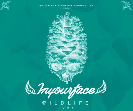 Inyourface presenta las primeras fecha de su gira «Wildlife»