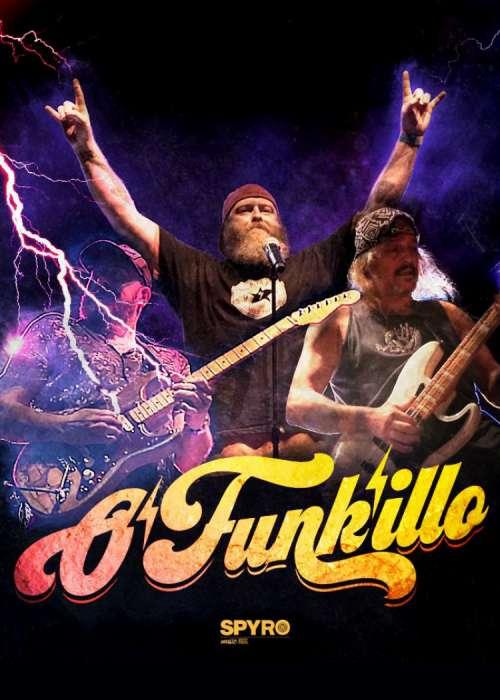 O'Funk'illo estarán actuando en Valencia el 8 de Marzo