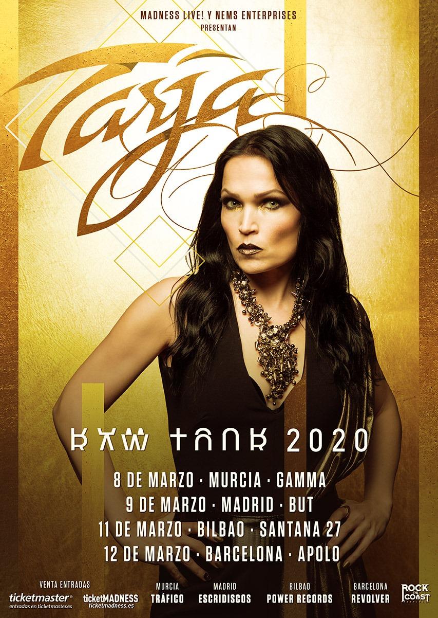 TARJA presenta nuevo disco » In The Raw» y nueva gira por España