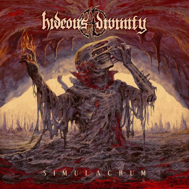 HIDEOUS DIVINITY revelan la portada y el listado de temas de su próximo disco