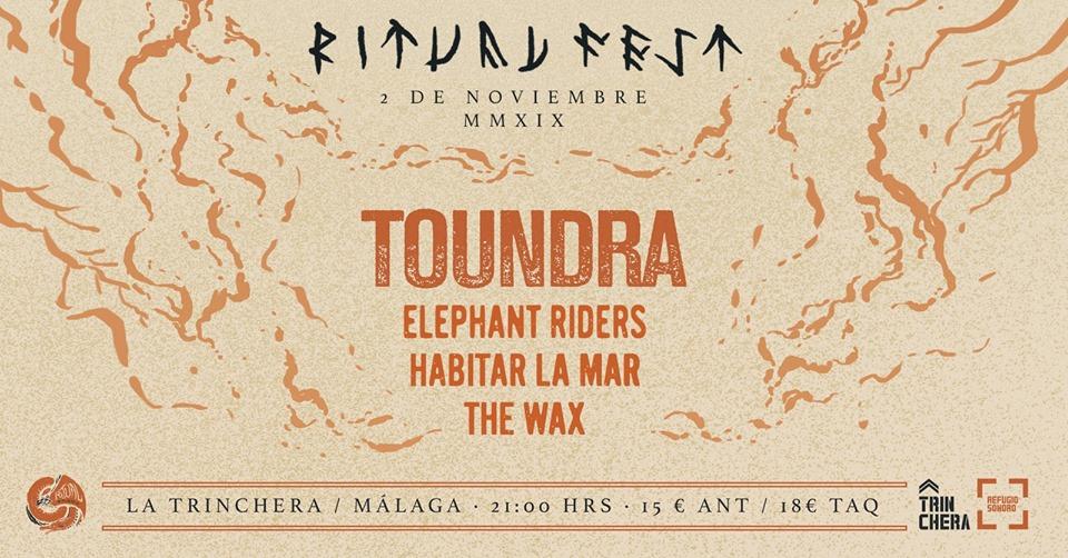 [Ritvual Fest 2019], el sábado 2 de noviembre en Málaga (Sala La Trinchera)