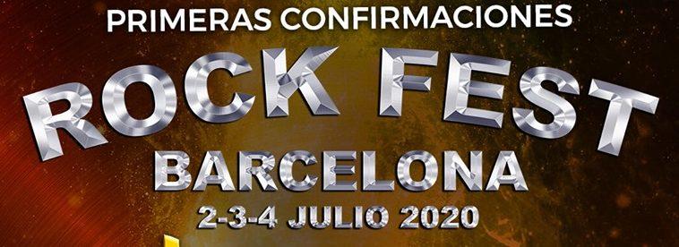 ROCK FEST BARCELONA 2020 presenta las primeras confirmaciones
