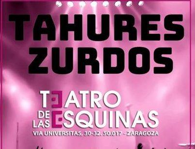 TAHURES ZURDOS concierto exclusivo en ZARAGOZA el 26 de diciembre 2019
