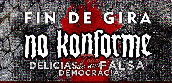 No Konforme: Concierto Fin de Gira en Madrid