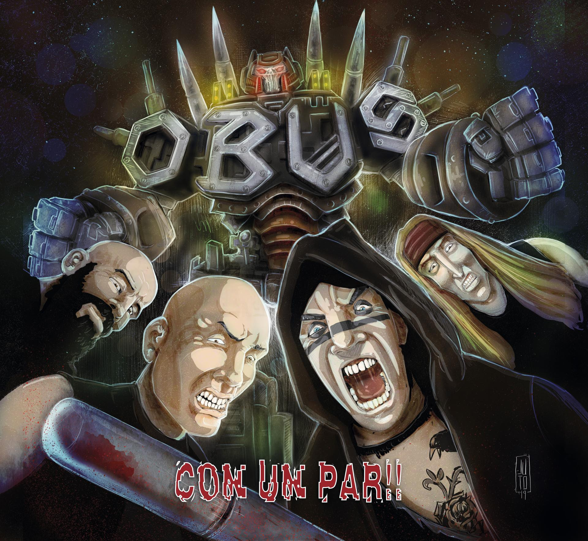 OBUS anuncian firmas del nuevo disco «Con un par» y primeras fechas de concierto