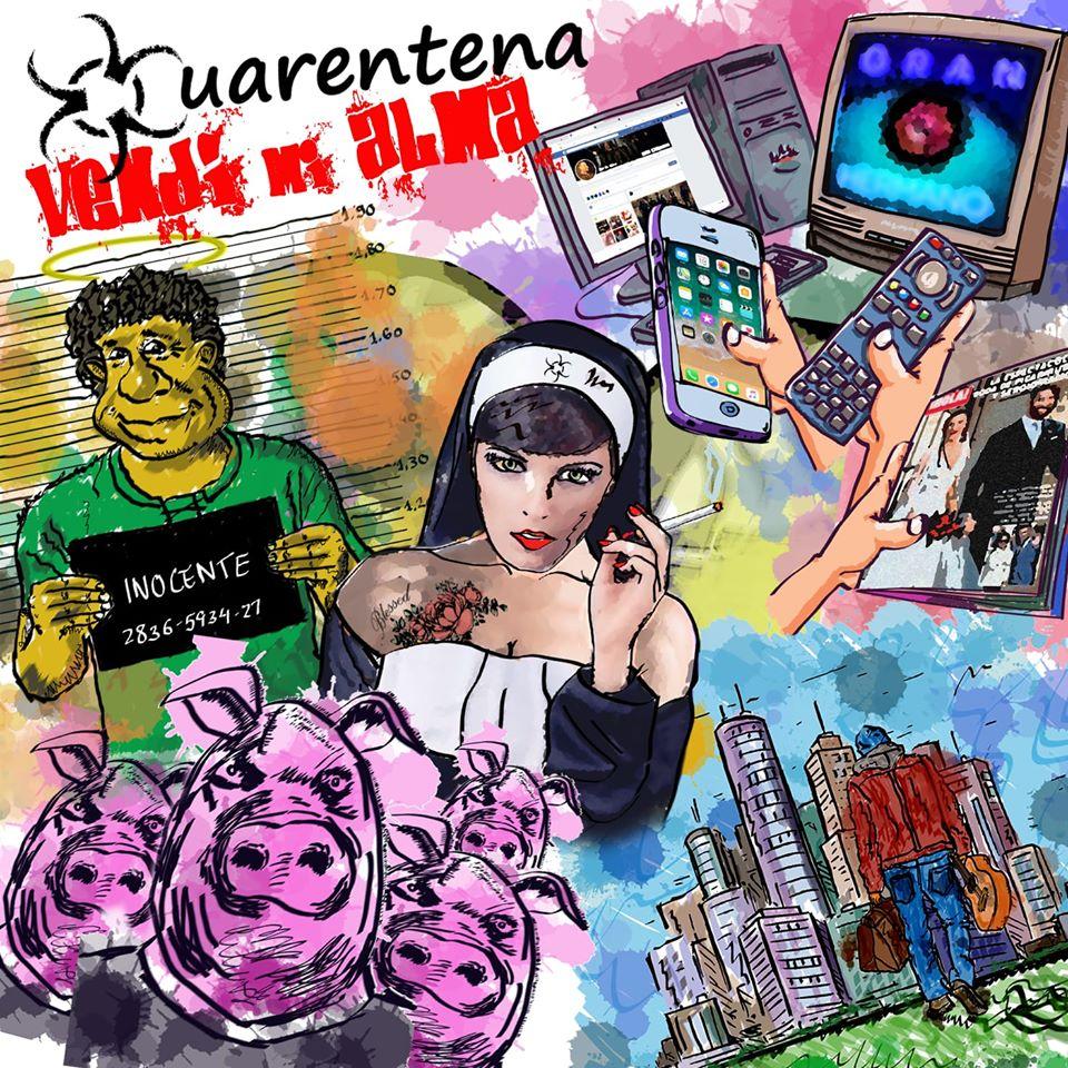 [Entrevista] CUARENTENA – Nuevo disco «Vendí Mi Alma»