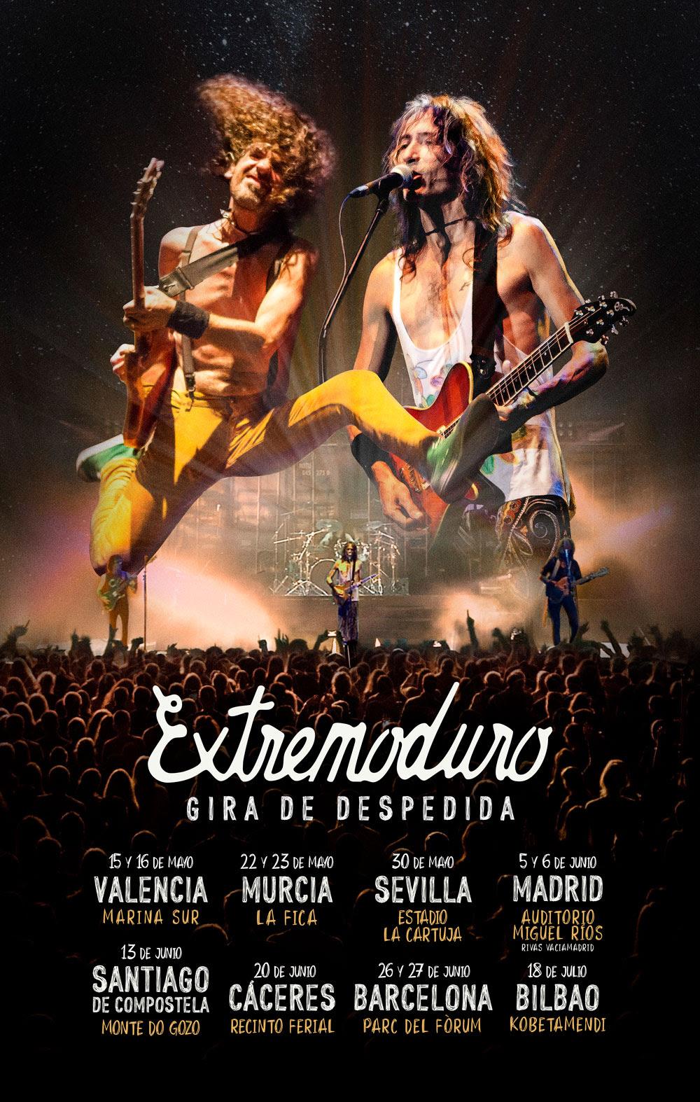 Extremoduro venden más de 200.000 entradas de su gira de despedida en 24 horas