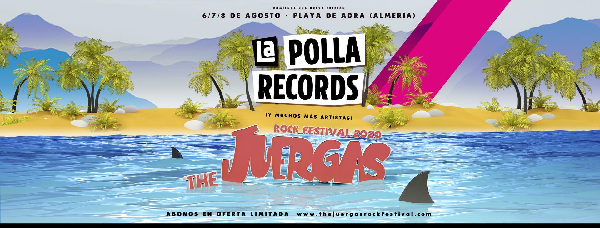 [Juerga's Rock Festival 2020] LA POLLA RECORDS, primera confirmación de la octava edición