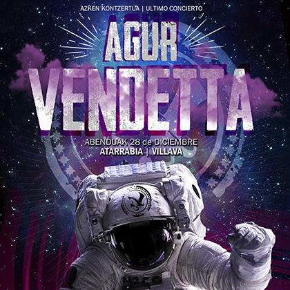 VENDETTA: Ya disponible el EP en directo con su concierto de despedida, «Agur Vendetta»