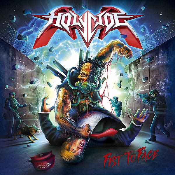 [Holycide] presenta su primer single «Fist To Face»