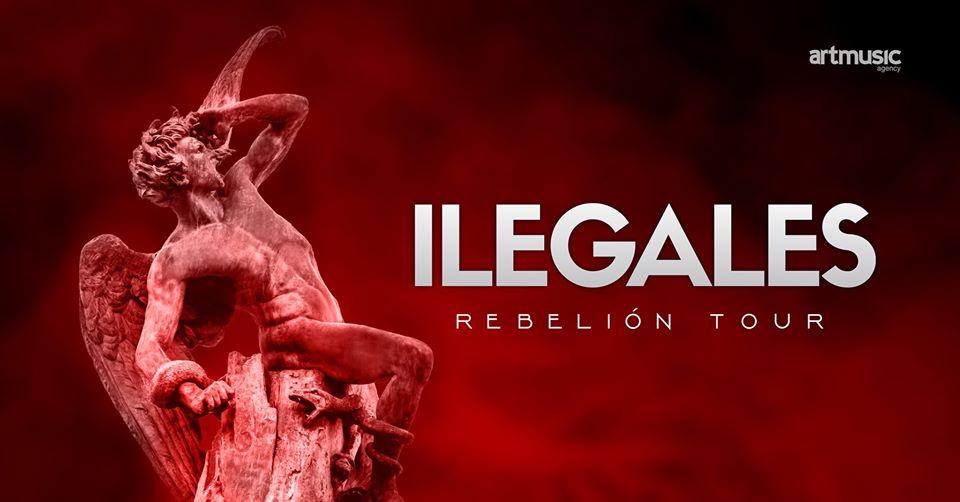 Ilegales estarán actuando en Málaga el 27 de marzo