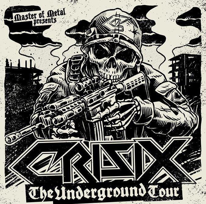 CRISIX anuncia una gira por salas nacionales