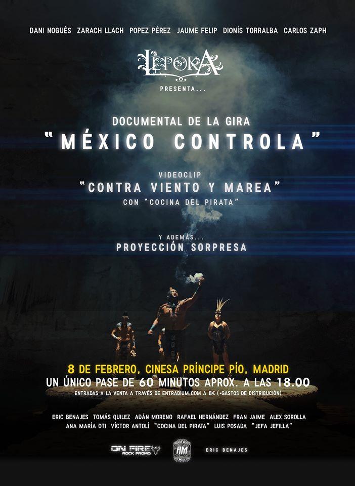 LÈPOKA se estrena EN EL CINE (Cines Cinesa Príncipe Pío MADRID)