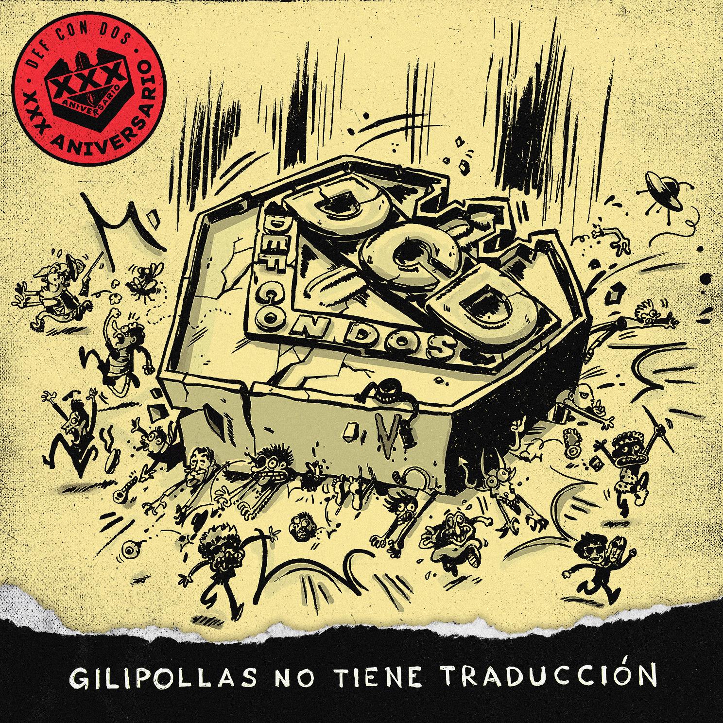 """DEF CON DOS presenta """"BOLINGAS"""", cuarto avance de su pŕoximo disco"""