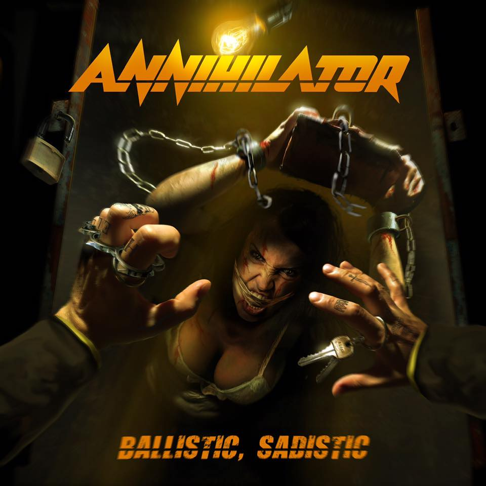 [Reseña] «Ballistic, Sadistic» último disco de Annihilator