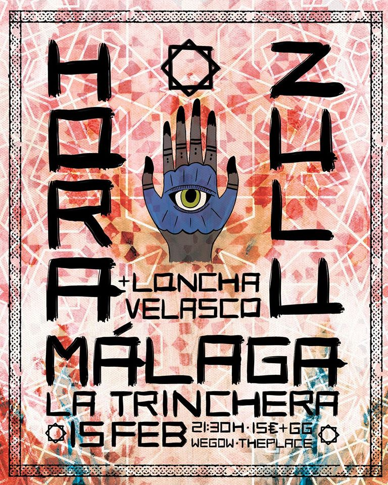 HORA ZULU estarán actuando en Málaga junto a LONCHA VELASCO el 15 de febrero