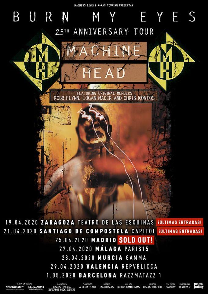 Machine Head agota entradas en su concierto de Madrid