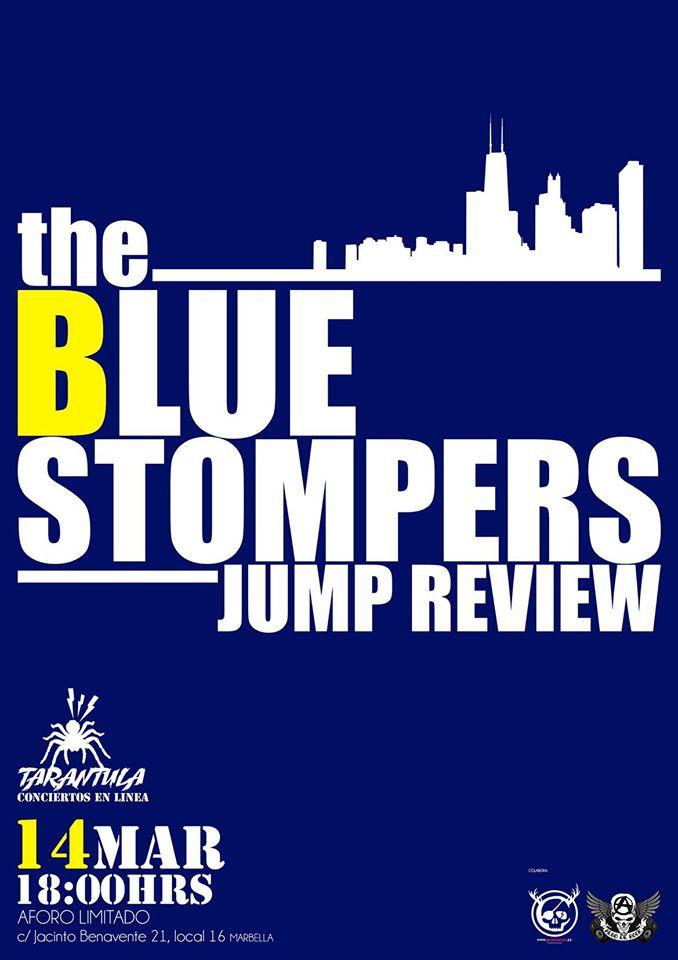 The BLUE Stompers Jump Review el sábado 14 de marzo en Estudios Tarántula – Marbella