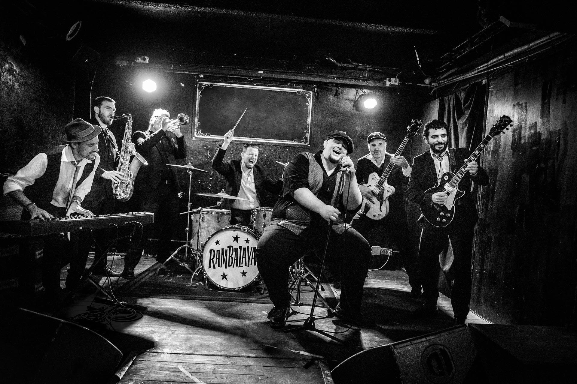 RAMBALAYA, nuevo proyecto de Anton Jarl, batería de Mambo Jambo y Los Saxofonistas Salvajes. Primer Singe