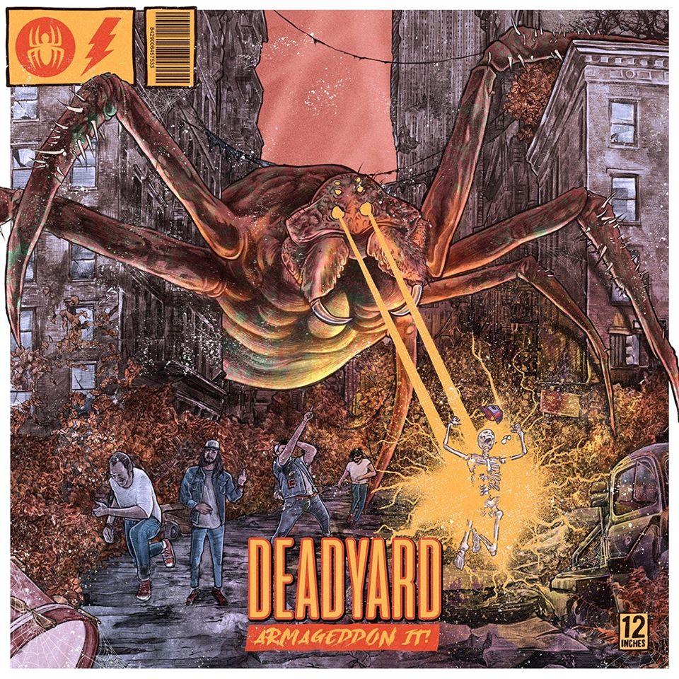 [Reseña] «Armageddón It! el nuevo disco de DEADYARD