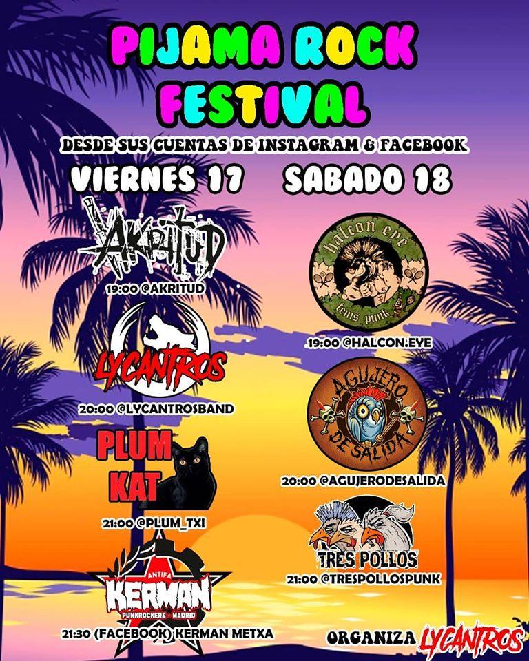 Pijama Rock Festival, 17 y 18 de abril