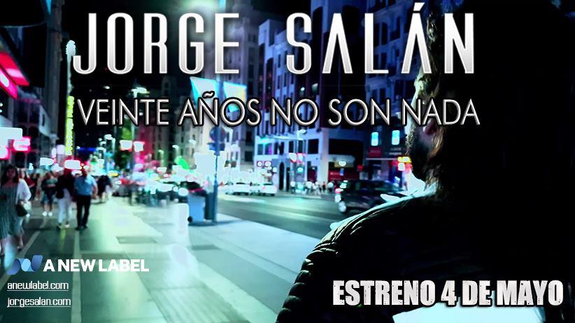 JORGE SALAN presenta su documental «20 años no son nada»